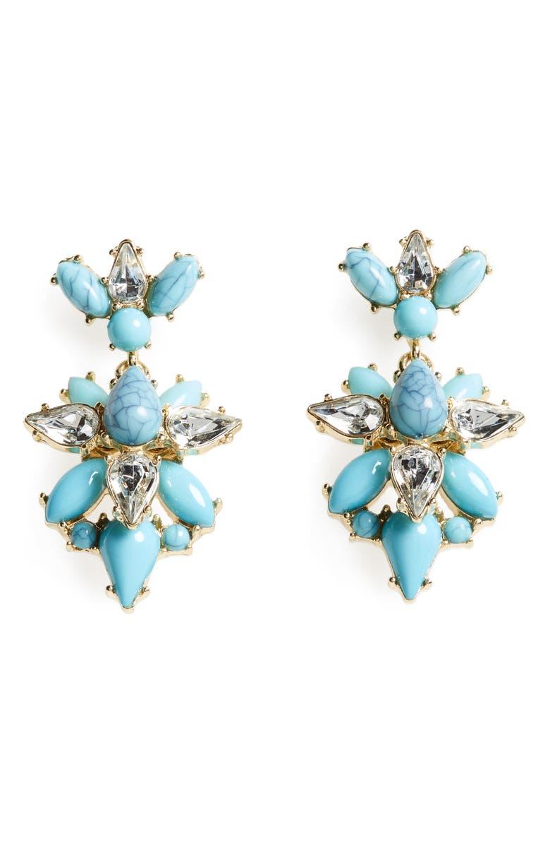 BAUBLEBAR Bellflower Drop Earrings, Main, color, 400