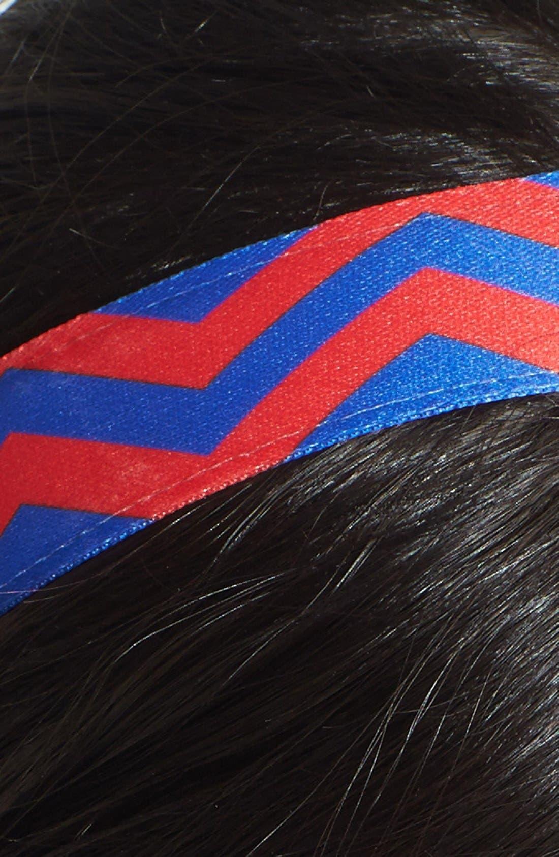 ,                             'Chevron Slide' Head Wrap,                             Alternate thumbnail 16, color,                             401