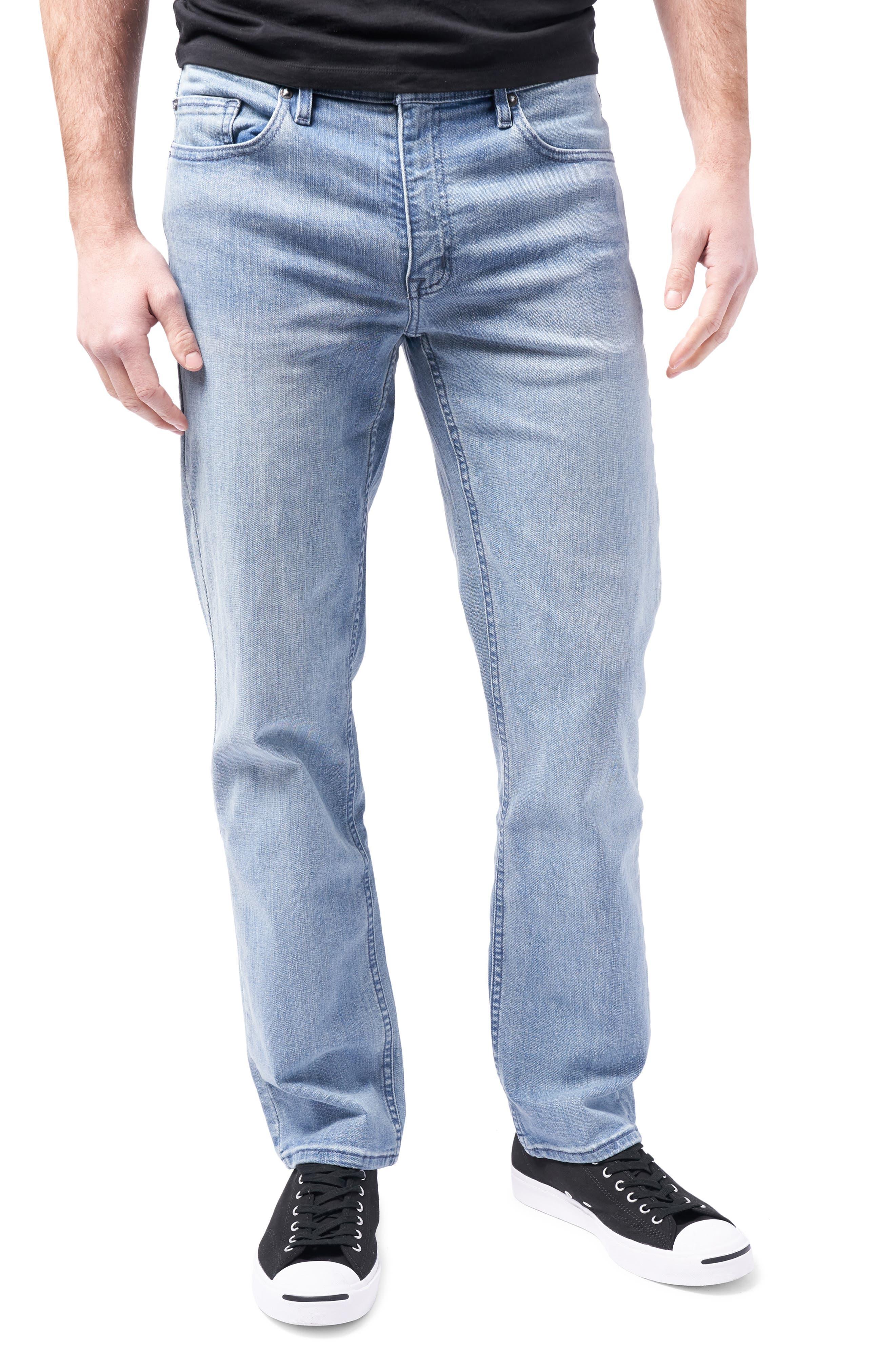 Slim Straight Leg Performance Jeans