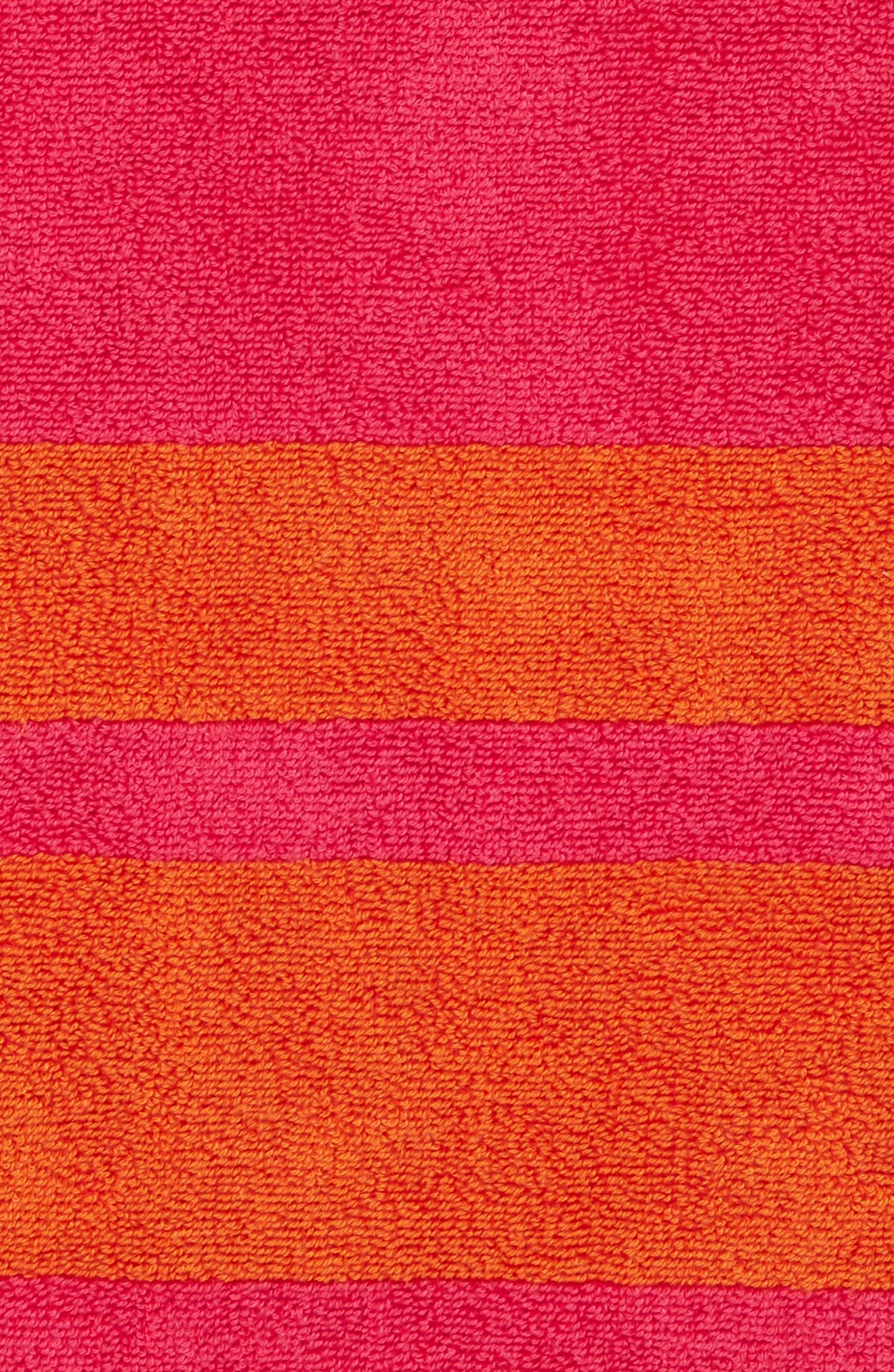 ,                             Mareta Stripe Beach Towel,                             Alternate thumbnail 2, color,                             RASPBERRY