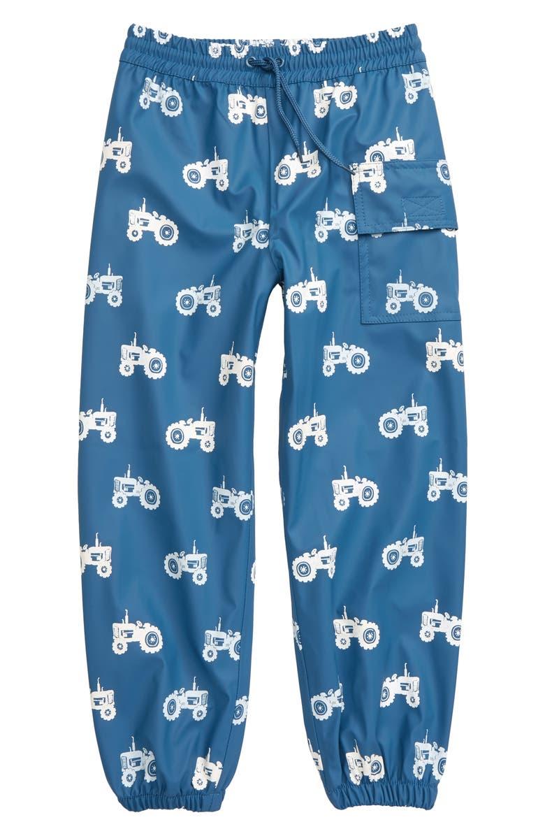 HATLEY Farm Color Changing Water Resistant Pants, Main, color, BLUE