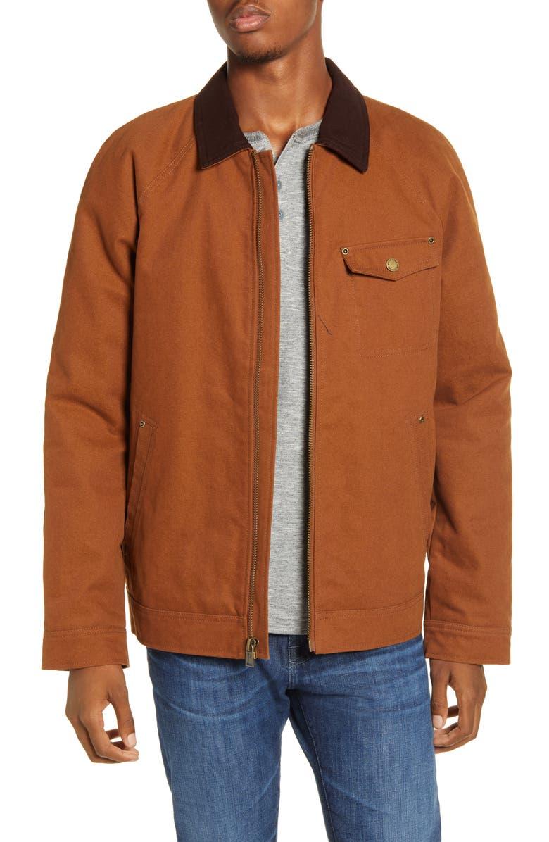 PENDLETON Wild Horse Canvas Jacket, Main, color, WHISKEY