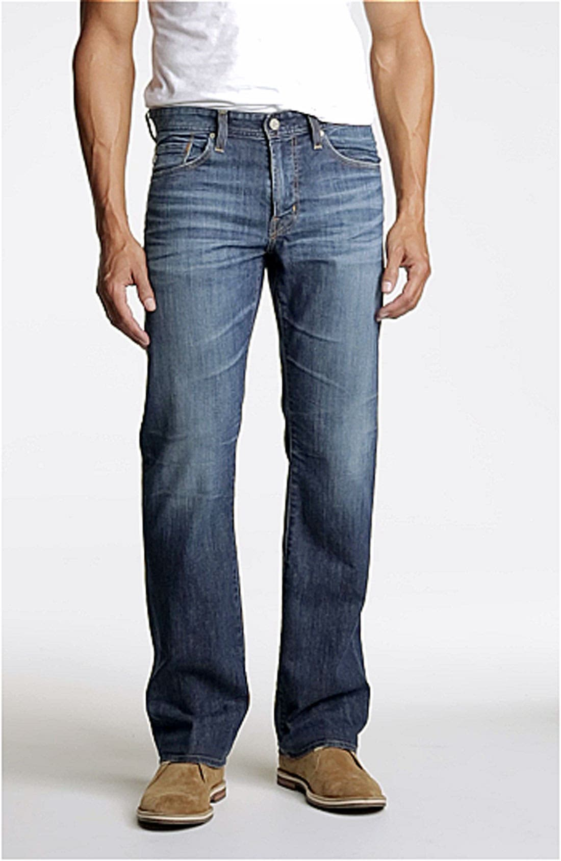 ,                             'Protégé' Straight Leg Jeans,                             Main thumbnail 36, color,                             429