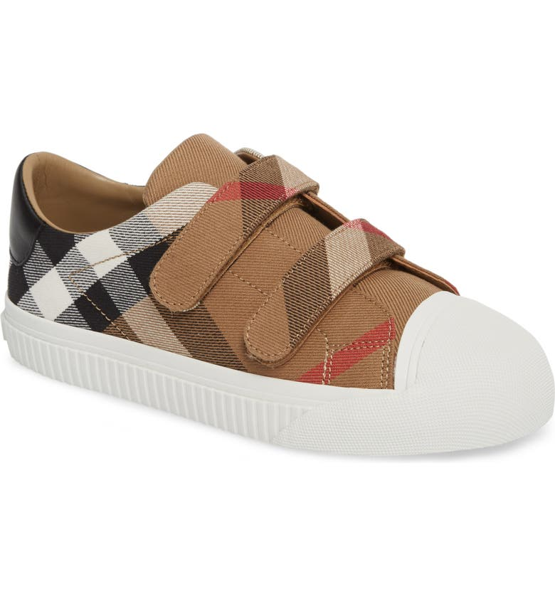 BURBERRY Belside Sneaker, Main, color, OPTIC WHITE