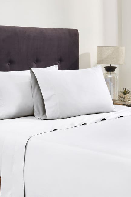 Image of Modern Threads Italian Hotel Collection 400 Thread Count 100% Cotton Sheet Set - White - Queen
