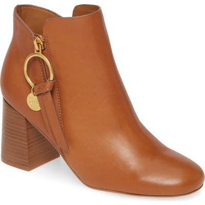 See By Chloe Louise Bootie - Brown