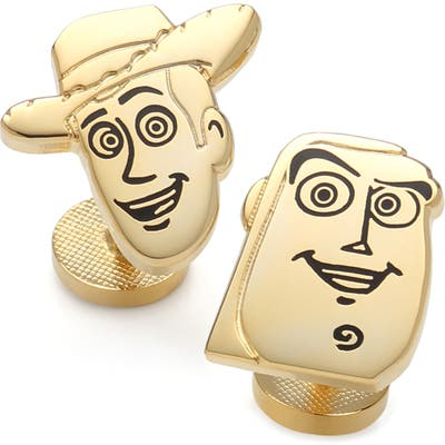 Cufflinks, Inc. Woody & Buzz Cuff Links