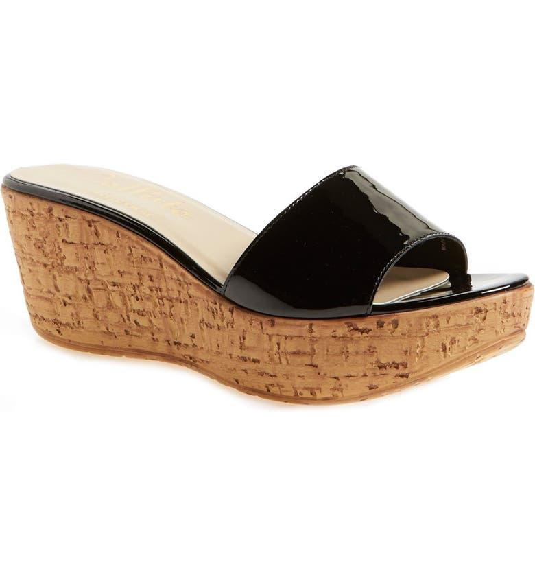 CALLISTO 'In the Bag' Wedge Platform Sandal, Main, color, 002