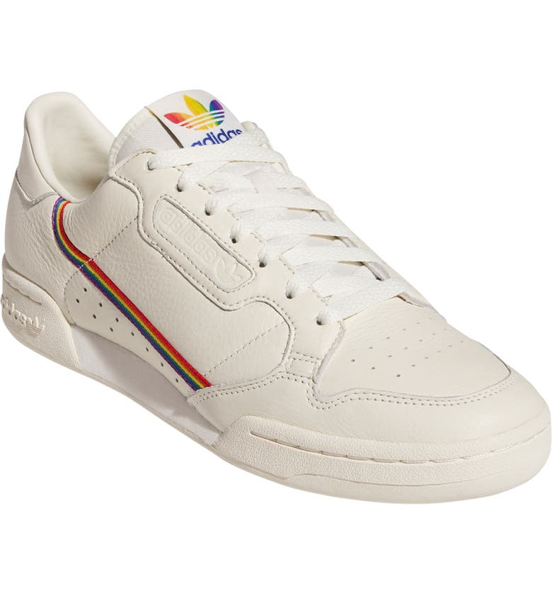 ADIDAS Continental 80 Pride Sneaker, Main, color, OFF WHITE/ OFF WHITE
