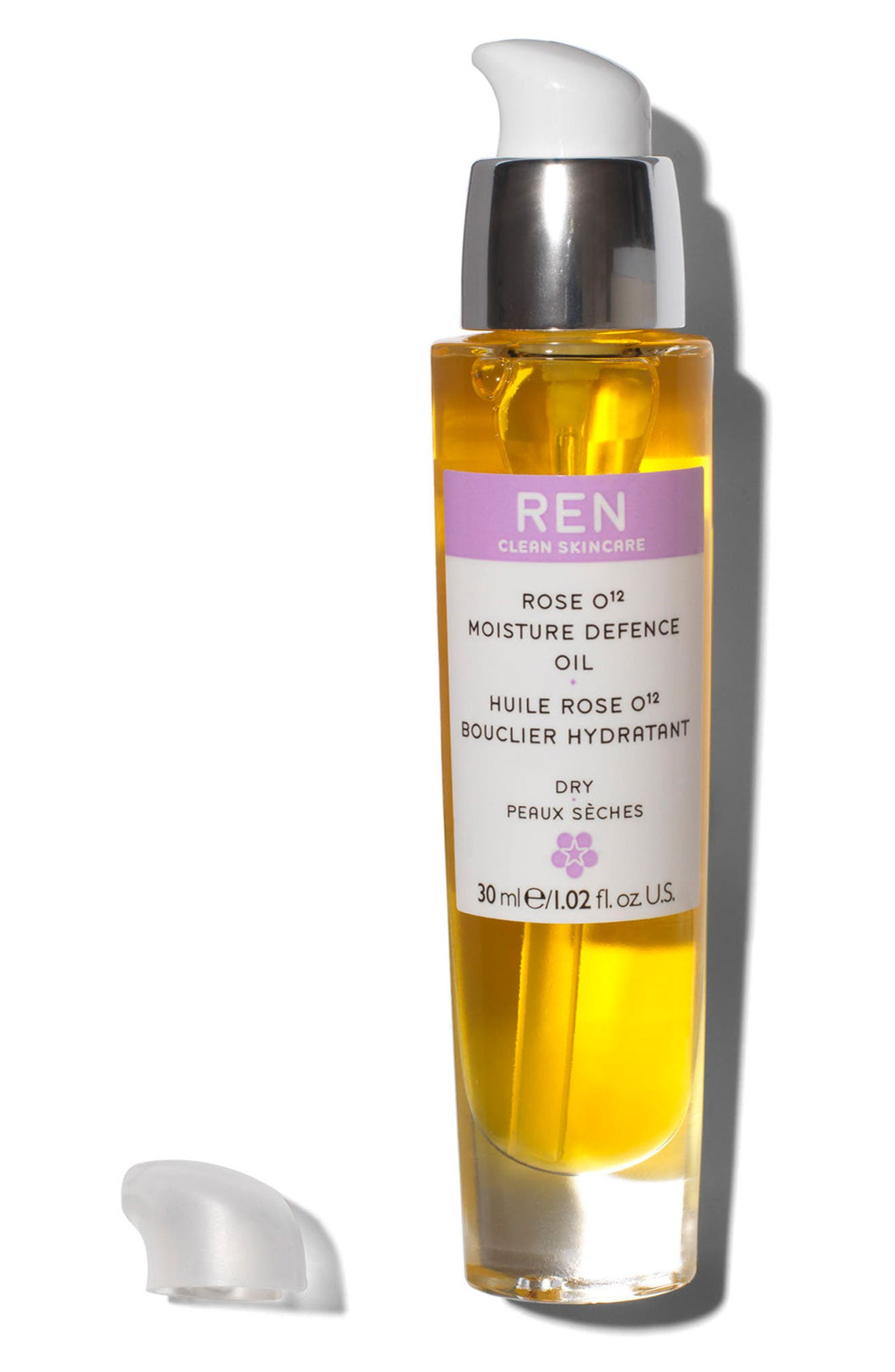 ,                             SPACE.NK.apothecary REN Rose O¹² Moisture Defence Serum,                             Alternate thumbnail 2, color,                             NO COLOR