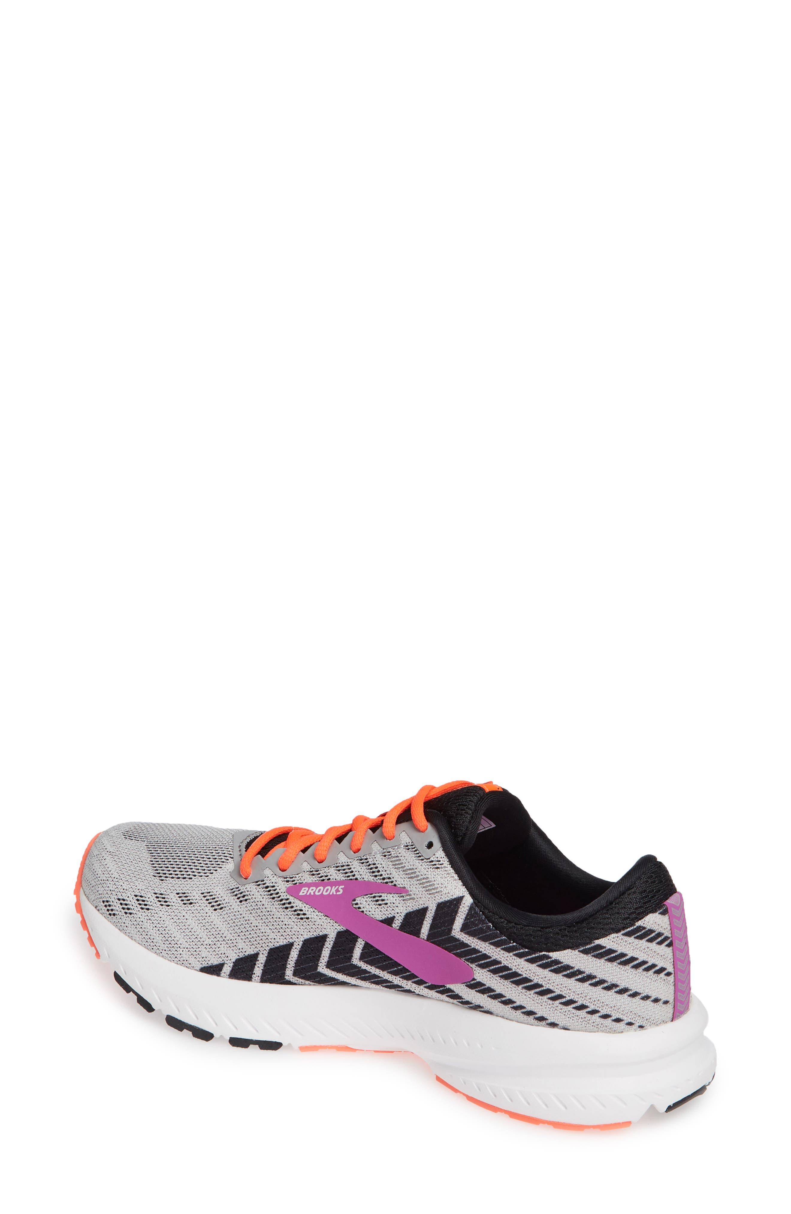 ,                             Launch 6 Running Shoe,                             Alternate thumbnail 2, color,                             GREY/ BLACK/ PURPLE