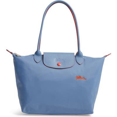 Longchamp Le Pliage Club Medium Shoulder Tote - Blue