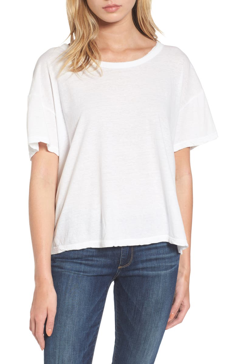 b71e32ef485 James Perse Crop Boxy Tee | Nordstrom