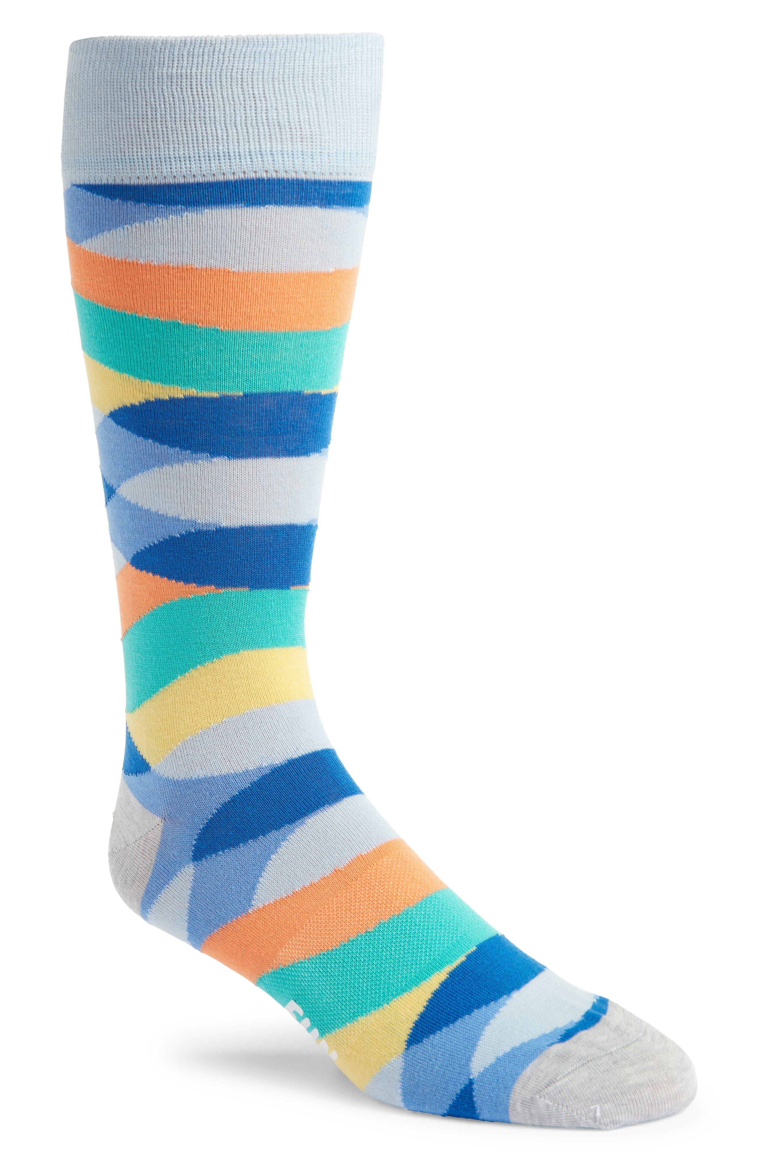 Men's Fun Socks Patterned Tall Socks