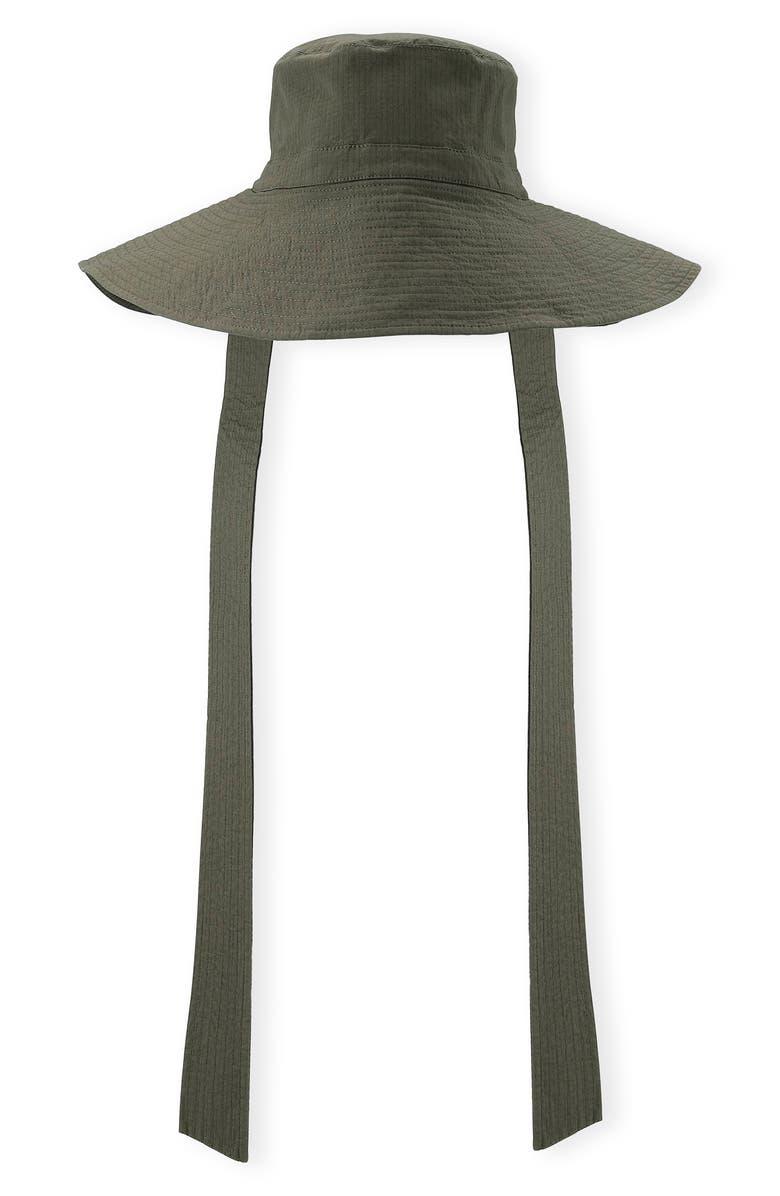 GANNI Ripstop Sun Hat, Main, color, 300