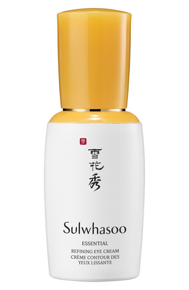 SULWHASOO Essential Refining Eye Cream, Main, color, NO COLOR