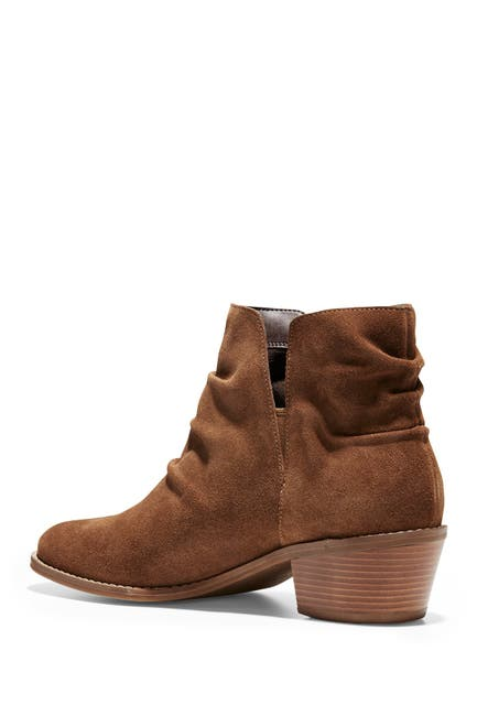 Image of Cole Haan Alayna Slouch Suede Bootie