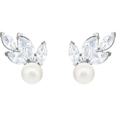 Swarovski Louison Crystal & Imitation Pearl Earrings