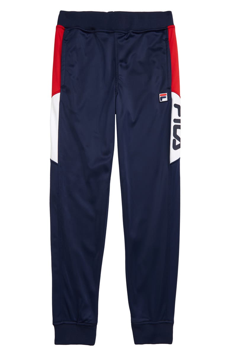 FILA Logo Sweatpants, Main, color, NAVY