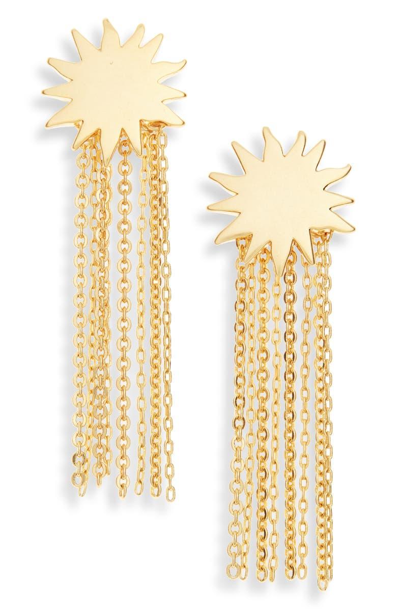 MADEWELL Sunbeam Drop Earrings, Main, color, 710