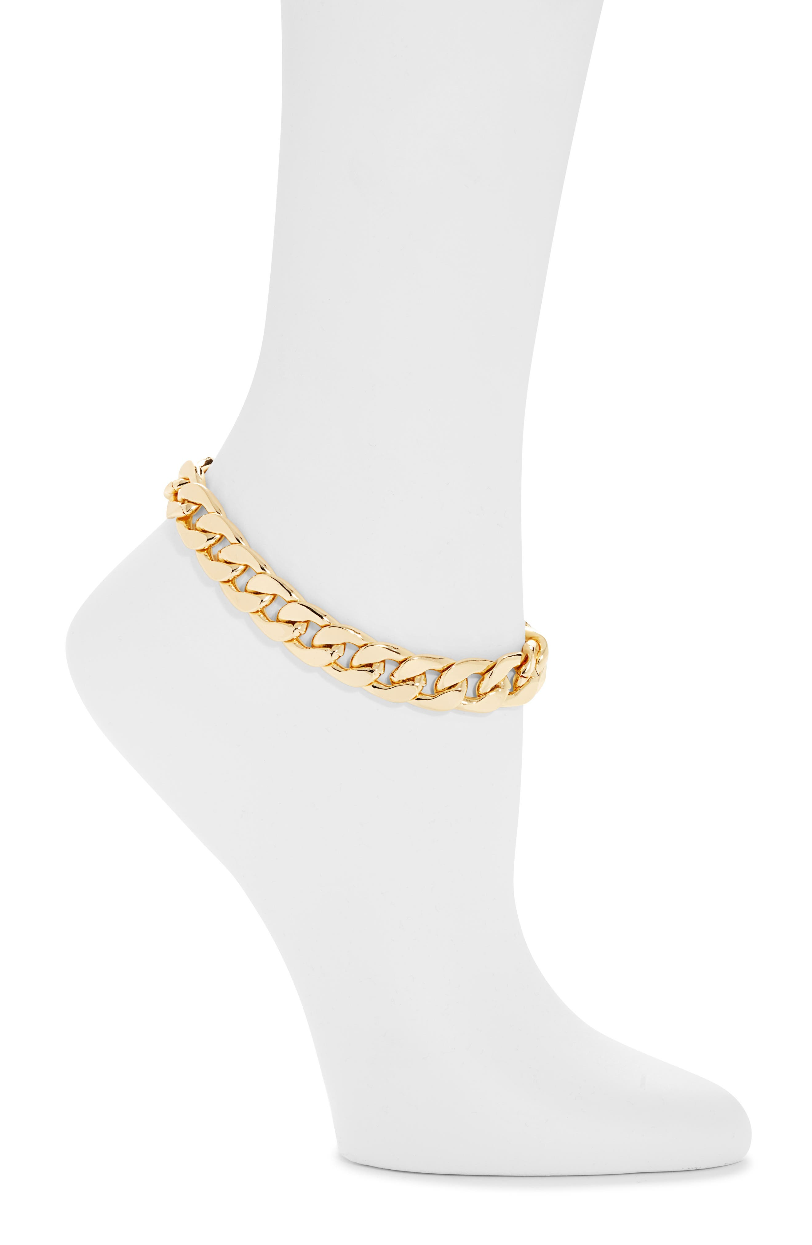 Ana Victoria Chain Link Anklet