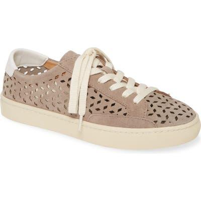 Soludos Ibiza Perforated Sneaker- Grey