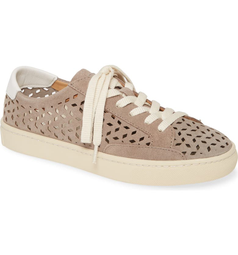 SOLUDOS Ibiza Perforated Sneaker, Main, color, MINERAL GREY