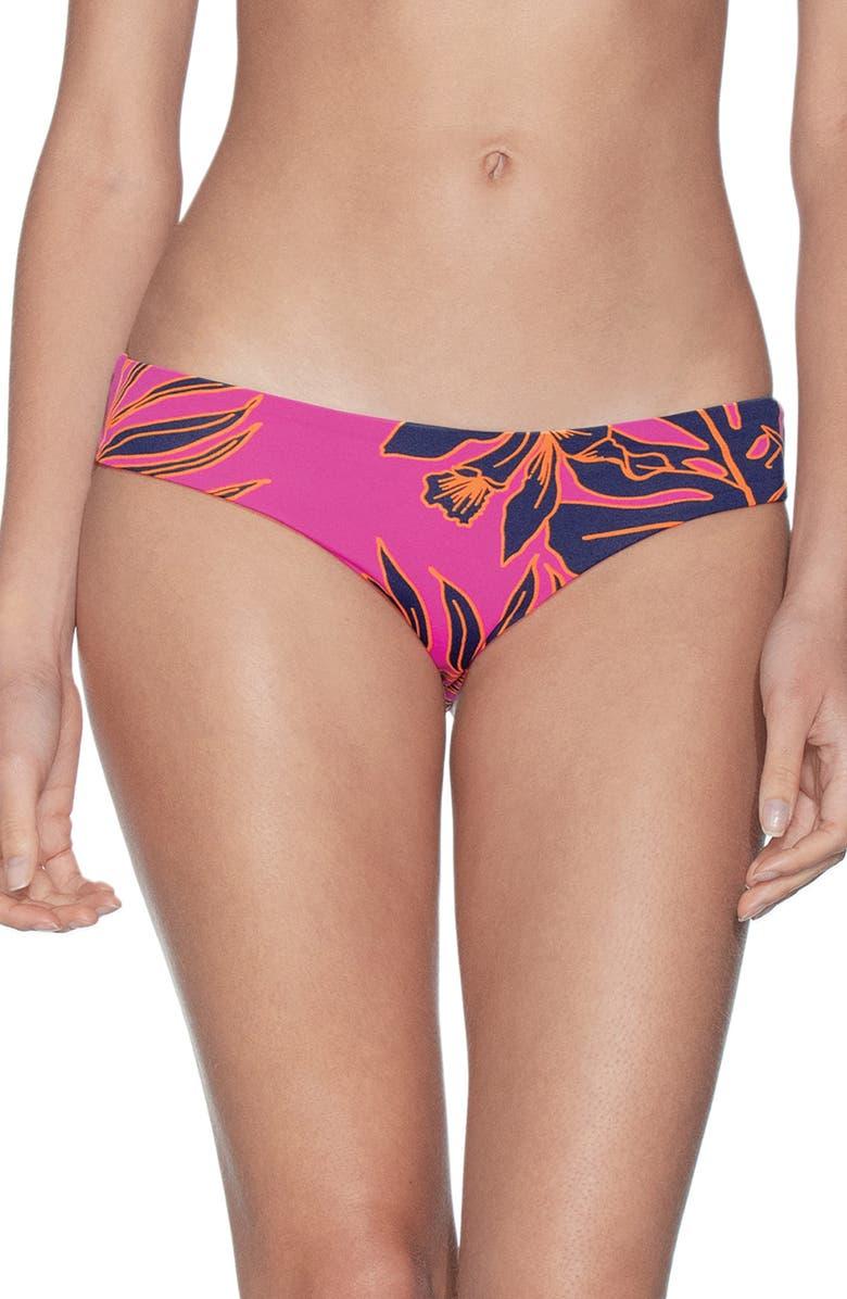 MAAJI Thaleia Sublime Reversible Bikini Bottoms, Main, color, HIBISCUS PINK