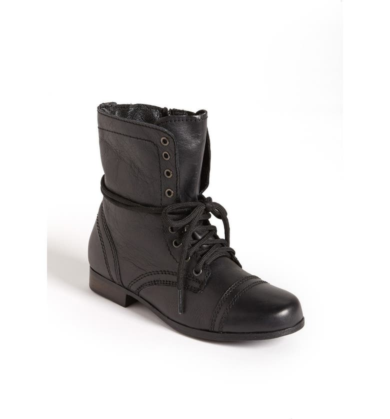 STEVE MADDEN 'Troopa' Boot, Main, color, BLACK