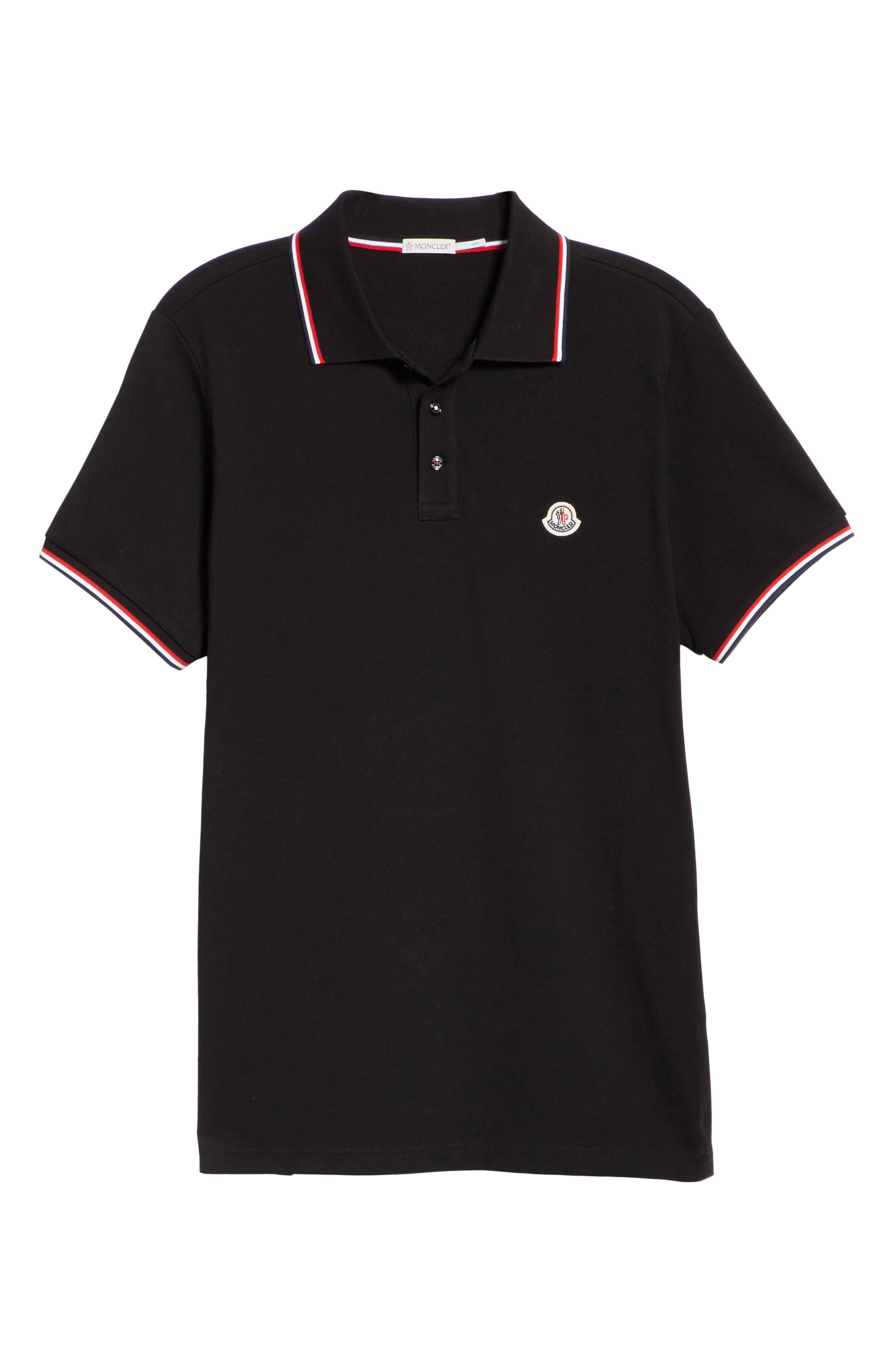 ,                             Maglia Piqué Polo,                             Alternate thumbnail 6, color,                             001