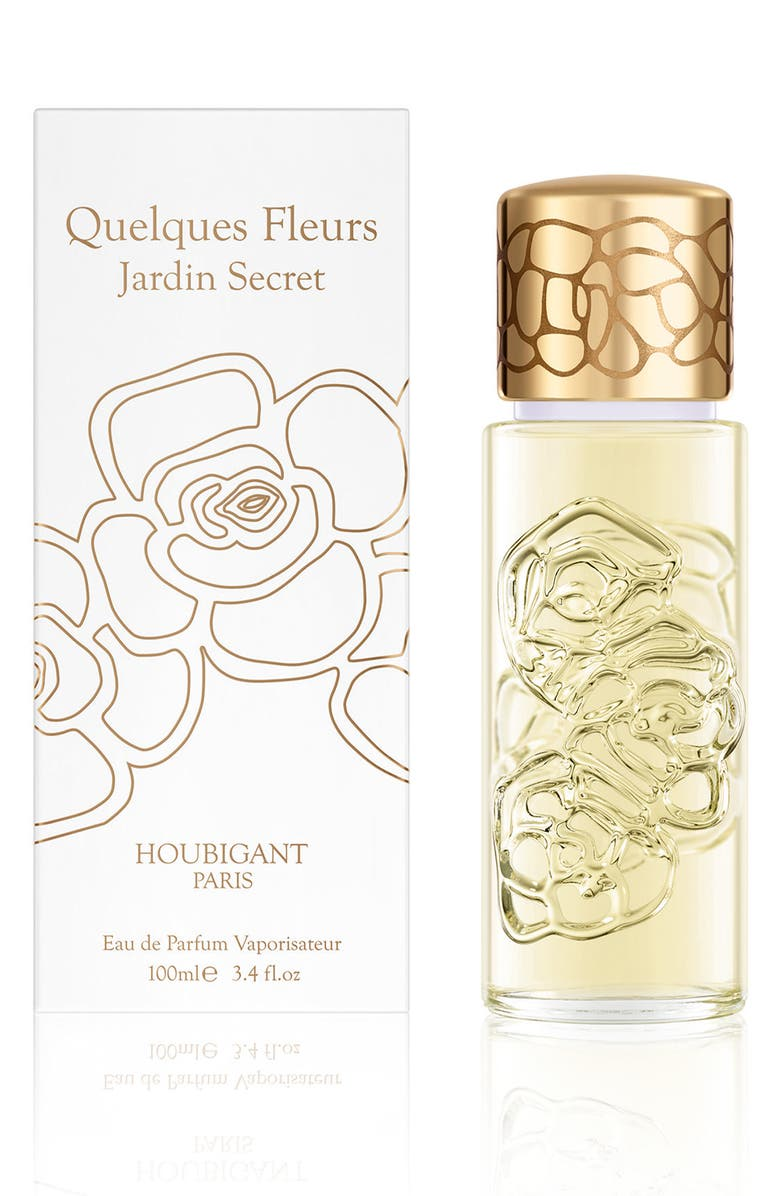 HOUBIGANT PARIS Quelques Fleurs Jardin Secret Eau de Parfum Spray, Main, color, NO COLOR