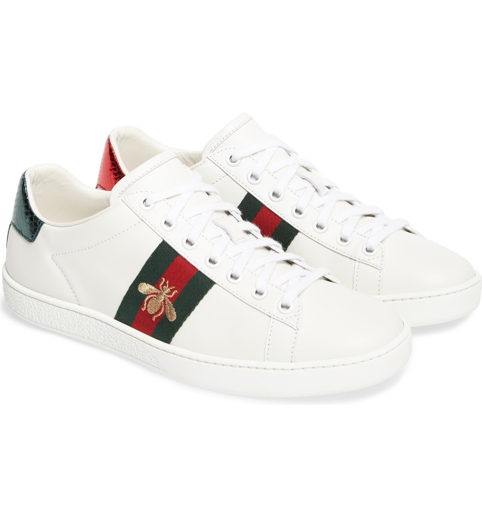 1bd781b38 Gucci New Ace Sneaker (Women)   Nordstrom