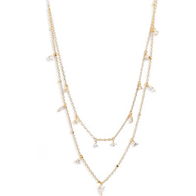 Nordstrom Cubic Zirconia Layered Necklace