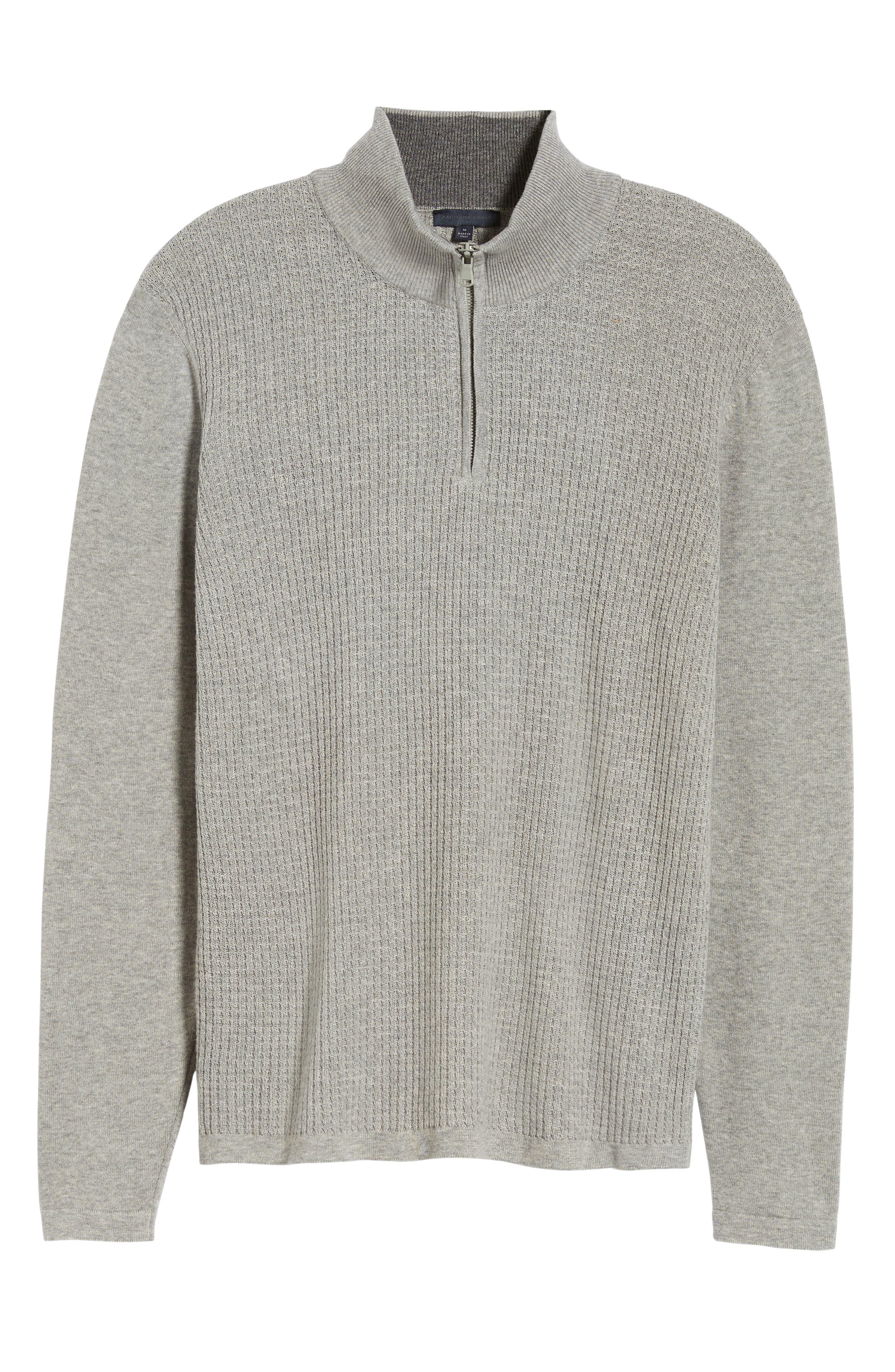 ,                             Higgins Quarter Zip Sweater,                             Alternate thumbnail 6, color,                             020