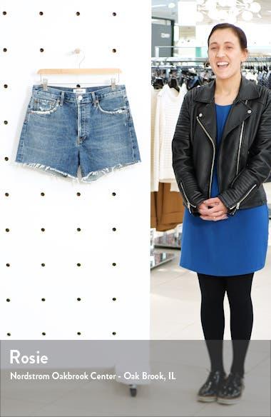 Reese High Waist Cutoff Denim Shorts, sales video thumbnail