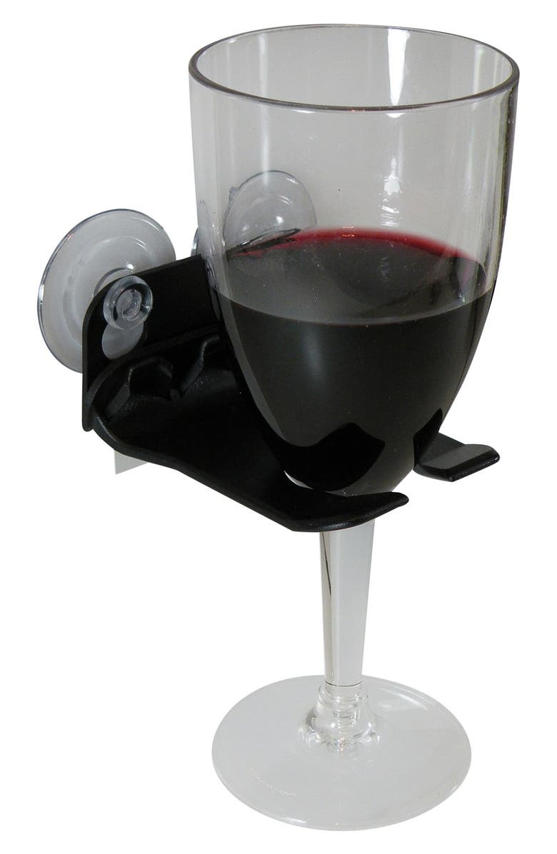 WAVEHOOKS Bathtub Wine Glass Holder, Main, color, 001