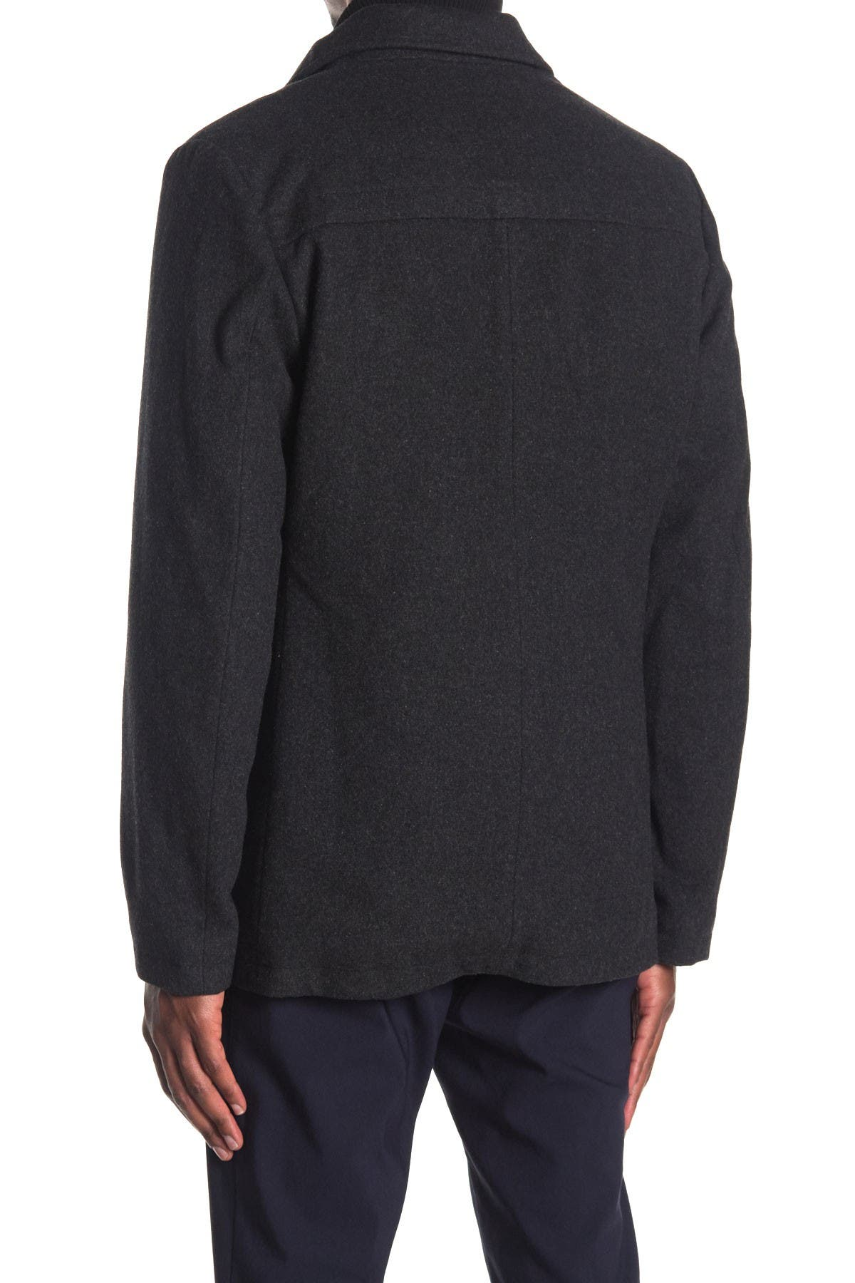 Image of SOUL OF LONDON Wool Blend Button Front Jacket