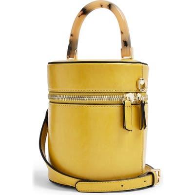 Topshop Simi Barrel Bag - Yellow