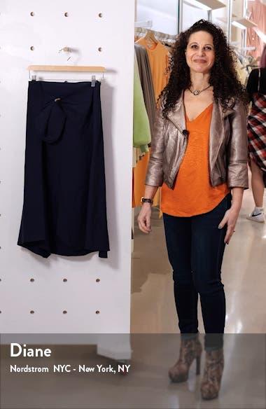 Linen Blend Skirt, sales video thumbnail