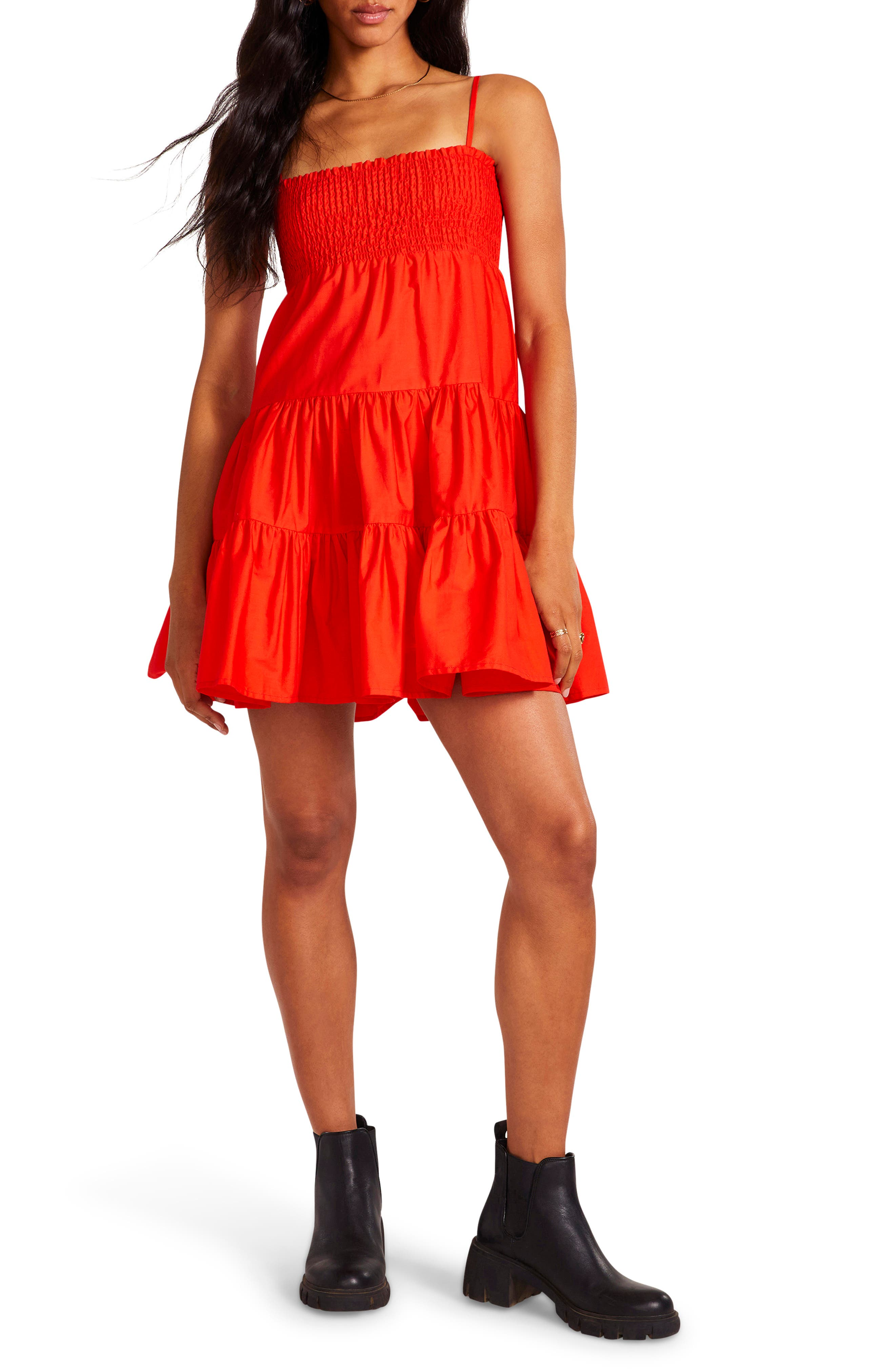 Dream About Me Fit & Flare Minidress