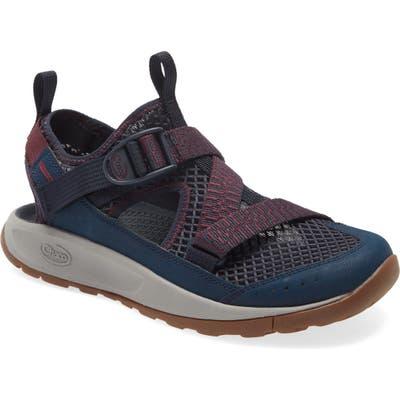 Chaco Odyssey Amphibious Hiking Shoe, Blue