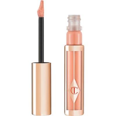 Charlotte Tilbury Hollywood Lips Liquid Lipstick - Platinum Blonde/ Peachy Nude