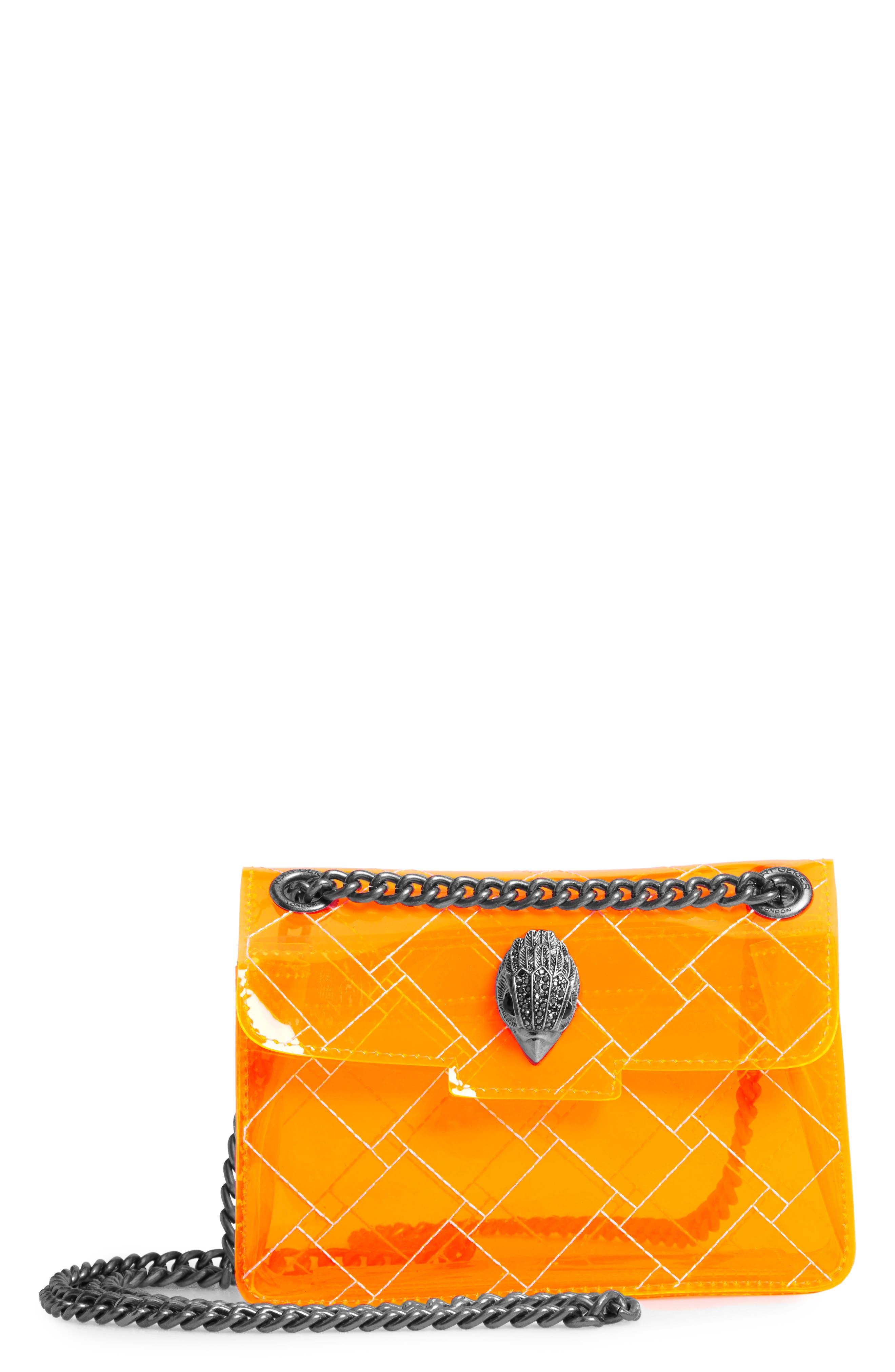 Image of Kurt Geiger London Mini Kensington Transparent Shoulder Bag