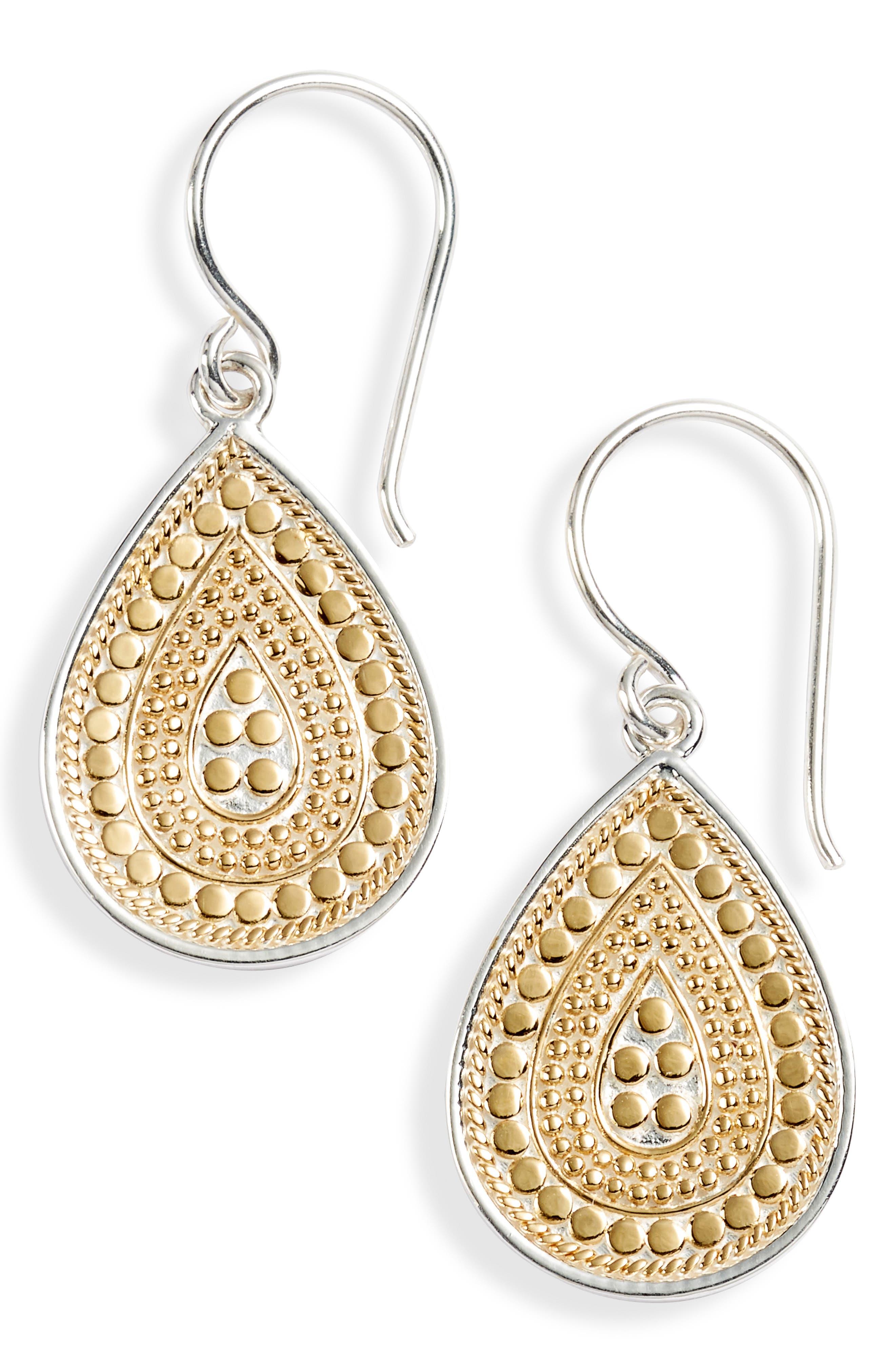 Small Teardrop Earrings