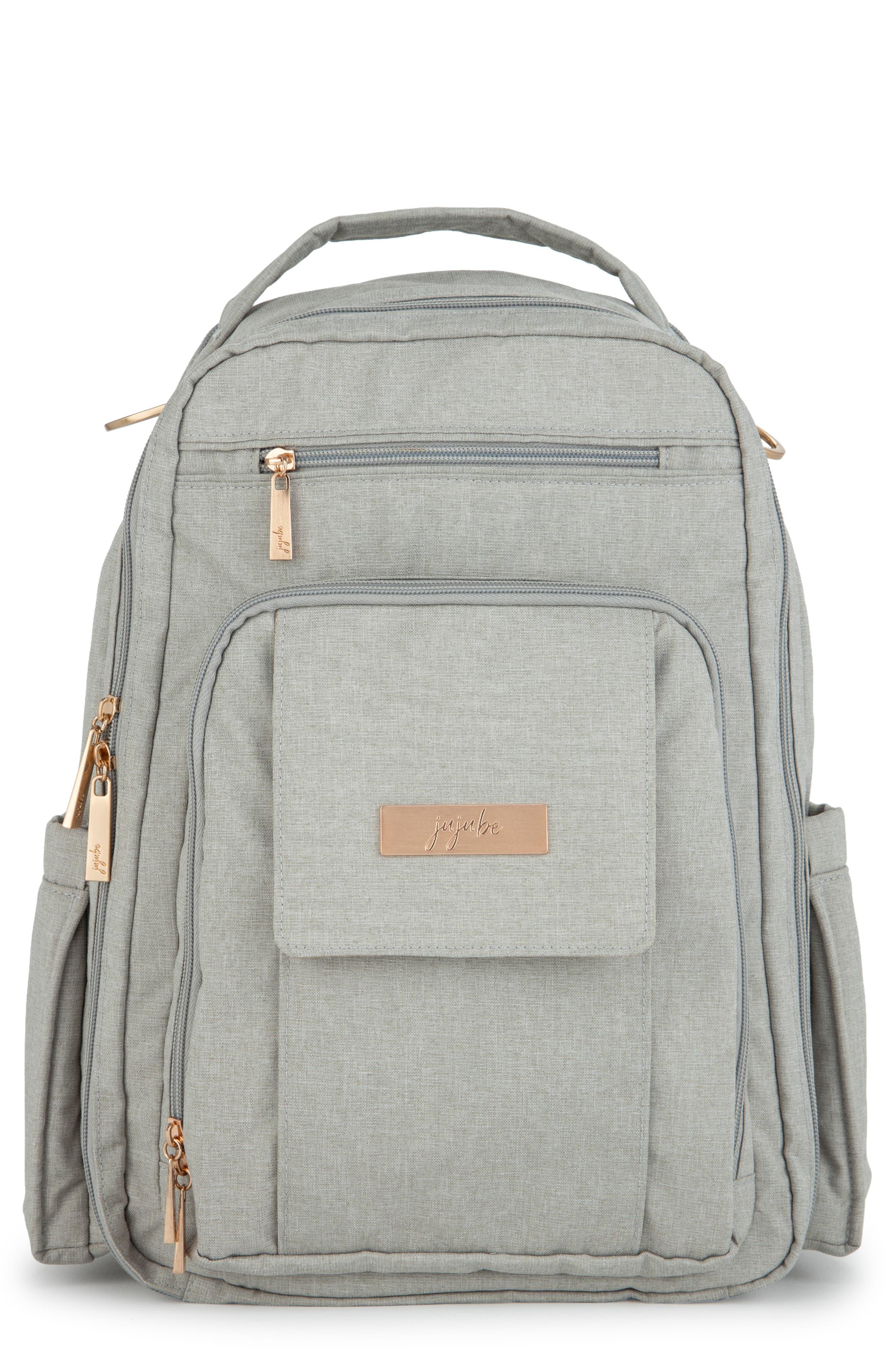 Ju-Ju-Be Be Right Back Diaper Backpack - Grey