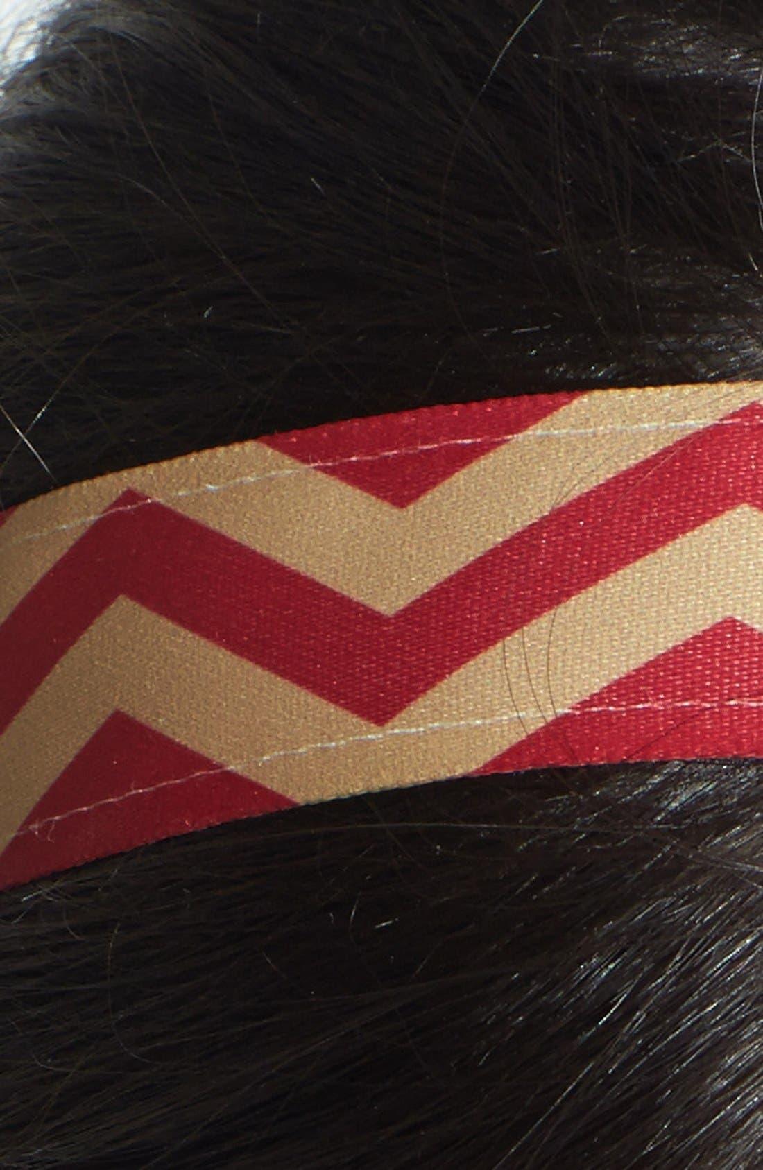 ,                             'Chevron Slide' Head Wrap,                             Alternate thumbnail 42, color,                             930