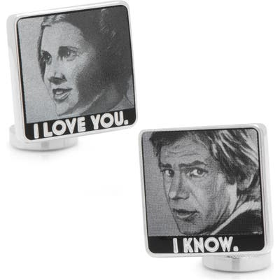 Cufflinks, Inc. I Love You/i Know Cuff Links