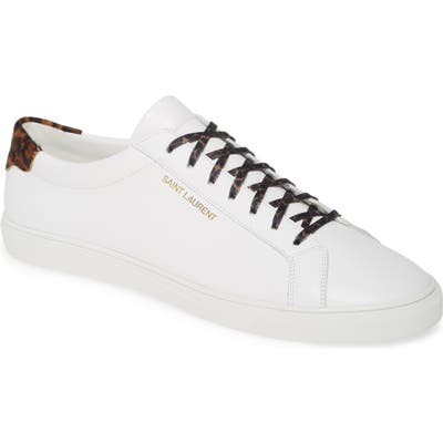 Saint Laurent Andy Sneaker, White