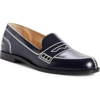 Christian Louboutin Mocalaureat Graphic Loafer - Blue