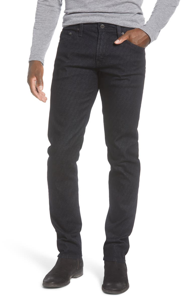 AG Tellis Slim Fit Jeans, Main, color, RIDDLE PUBLISHER